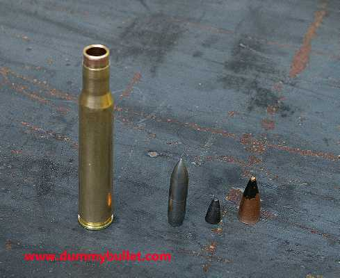 30-06 AP WW2  ammunition component inert model from dummybullet.com