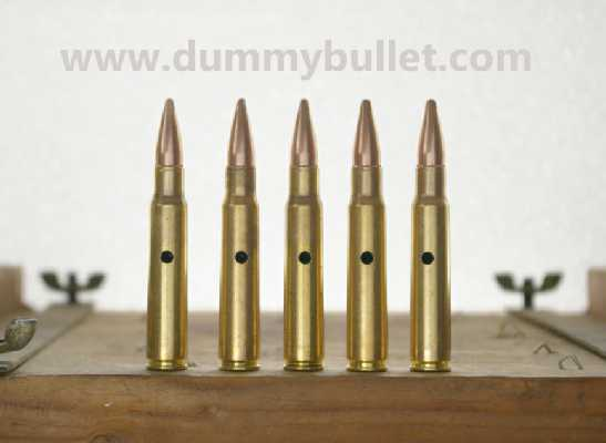 8x57 JRS Snap Caps Training Rounds Practice Dummy 8x57R Mauser